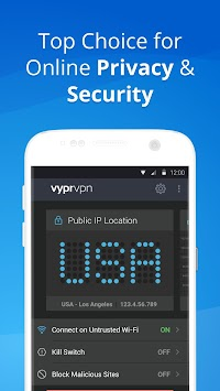 VPN - Fast, Secure & Unlimited WiFi with VyprVPN