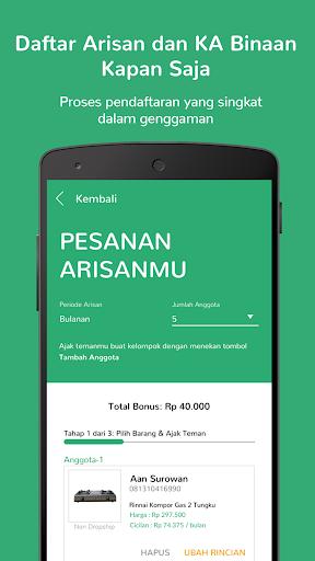 Mapan: Usaha Lewat Arisan  screenshots 4