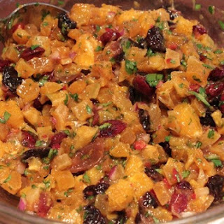 Citrus-Apricot-Dried Cherry Salsa