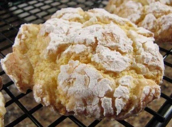 Dusted Cream Cookies Recipe