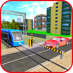 Railroad Crossing Game – Free Train Simulator Icon
