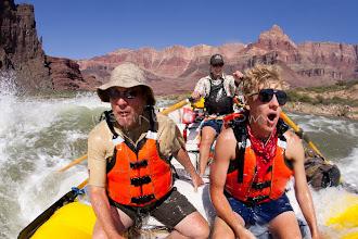 Photo: Rafting the Grand Canyon. Grand Canyon National Park, AZ.