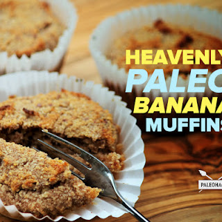 Heavenly Paleo Banana Muffins.