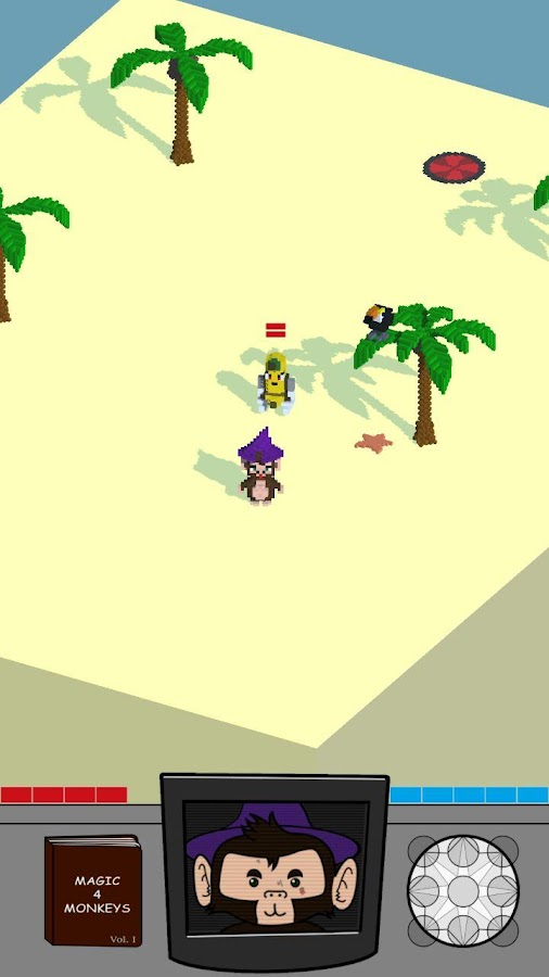 Apes 'n' Spells DEMO- screenshot
