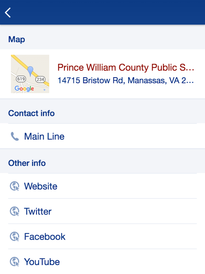 Prince William County Schools- screenshot