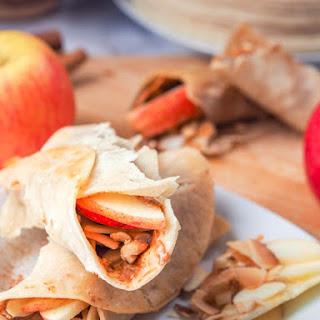 Vegan Coconut Cashew Snack Wraps {GF}.