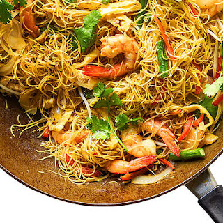 Prawns Vermicelli Noodles Recipes.