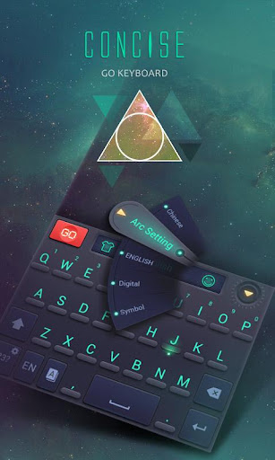 Concise GO Keyboard Theme