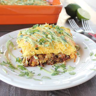 Pulled Pork Tamale Casserole
