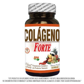 Colágeno Forte 400 Mg   Frasco x60 Caps Natural Freshly Producto Natural