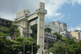 Photo: Salavador de Bahia elevator to the top of the city.