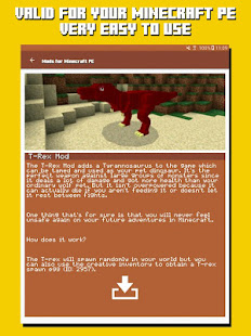 Download Full Mods for Minecraft PE 2.14 APK