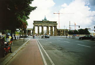 Photo: The Brandenburg Gate from the western side