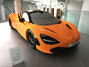 McLaren's first Lego build was left unfinished so that visitors to the 2017 Goodwood festival of speed could complete the 720S replica. Picture: SUPPLIED