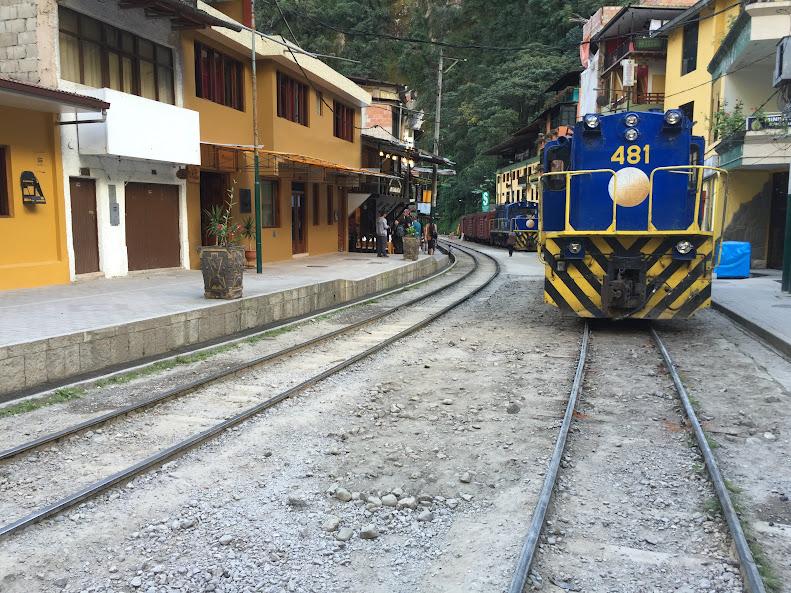 マチュピチュ村 線路