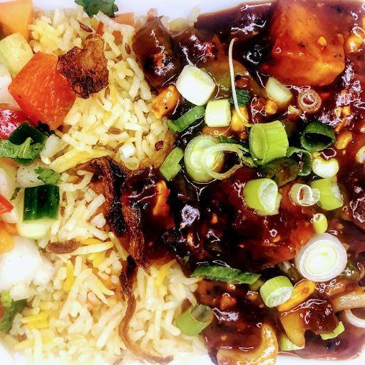 Chilli Paneer Rice Bowl