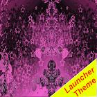 Dark Pink Theme GO Launcher icon