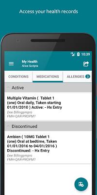 FollowMyHealth® - screenshot