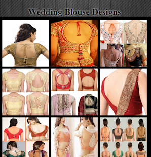 Wedding Blouse Designs - náhled