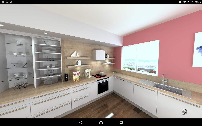 Winner viewer kitchen in 3d aplicaciones de android en for Proyectos de cocina