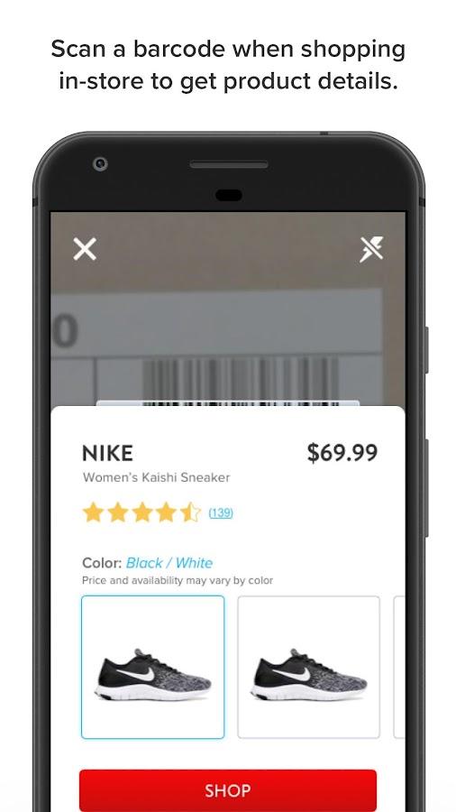 Famous Footwear Mobile Screenshot