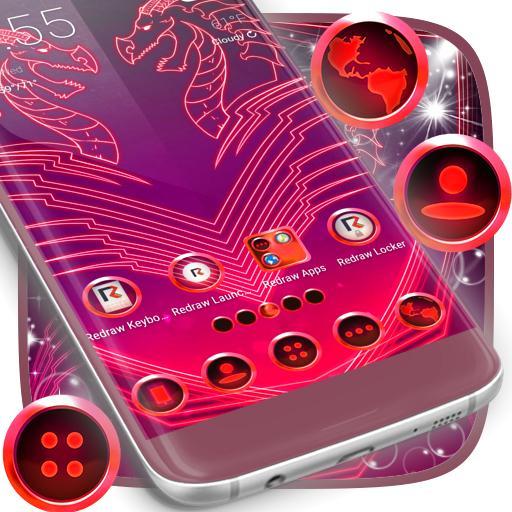 Neon Dragon Themes