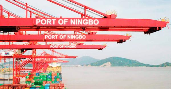 Порт Нинбо