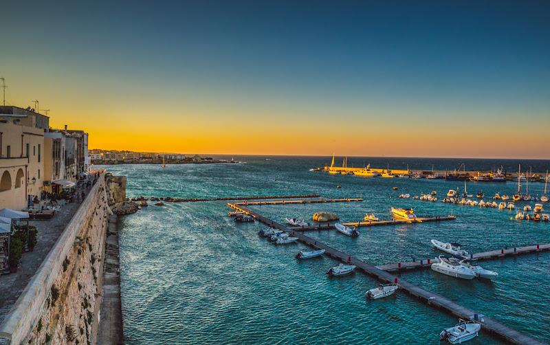 Tramonto sul porto di Otranto di Mdv78