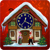 Dreamery Clock Christmas
