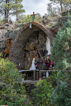 Photo: Hillside grotto near Los Ojos, NM
