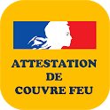 Attestation couvre feu icon