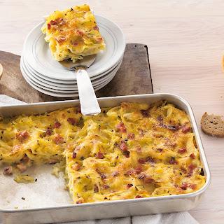 Spitzkohl-Lasagne mit Kümmel