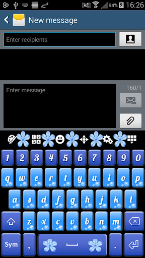 Blue Jasmine Keyboard