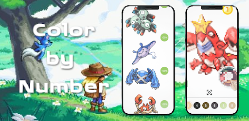 Pokees 2 - Color by Number for PC