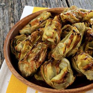 Roasted Artichoke Hearts Recipe