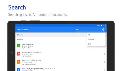 Polaris Office for LG 7.3.21 screenshots 22