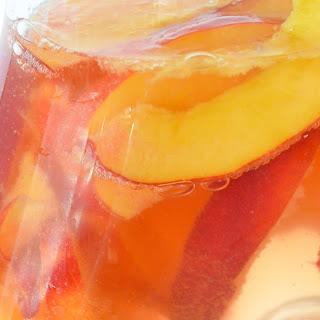 Nectarine Sparkling Rosé Sangria Recipe