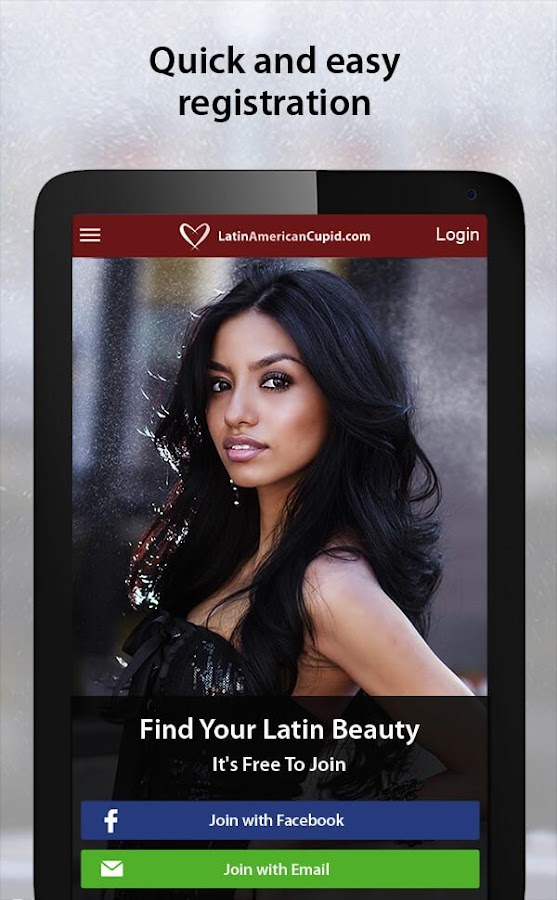 Latina online dating app