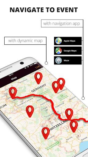 IdeasMotors - Motorcycle events & trip planning screenshot