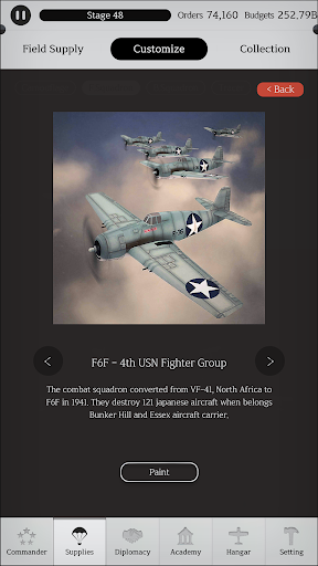 Air Fleet Command : World War 2 - Fighter Bomber 2.60 screenshots 7