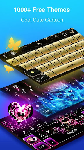 TouchPal Keyboard - Swype, Fancy fonts & Themes Screenshot