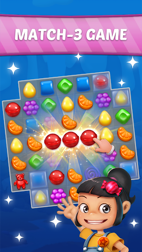 Candy Sweet Story: Candy Match 3 Puzzle 72 screenshots 1