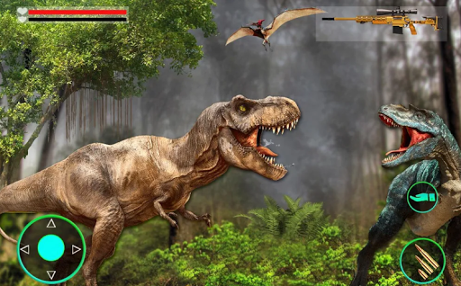 Dinosaur Hunter Survival Game : Free Dino Shooting apkpoly screenshots 3