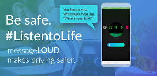 android read text messages while driving