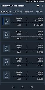 Internet Speed Meter 2.1.2 Download APK Mod 1