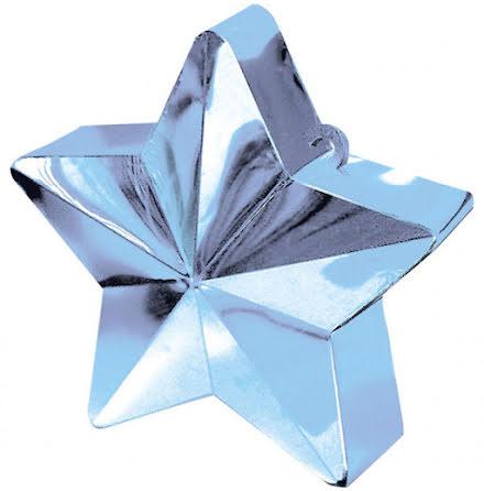 Ballongtyngd - Stjärna ljusblå
