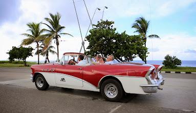 Photo: Cojimarin ja Havannan välillä ajettiin välillä ihan vauhdikkaasti!