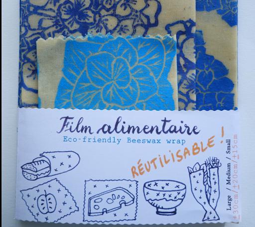 Film alimentaire et dessins