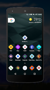 Corners HD icon pack Screenshot
