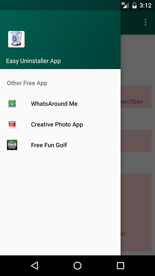 Easy Uninstaller App- screenshot
